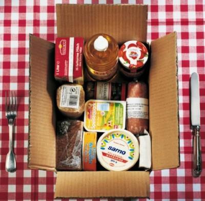 Paket für Asylsuchende