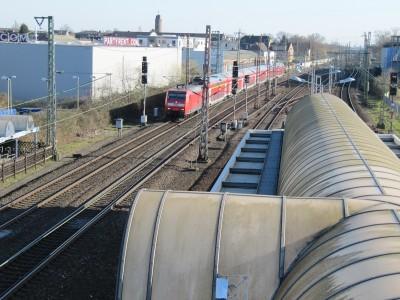 S-Bahn Haltstelle